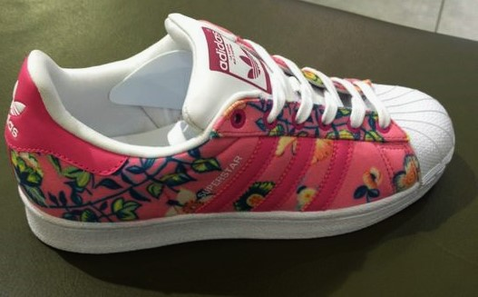 21% off adidas Shoes New Adidas Superstar floral sneakers from